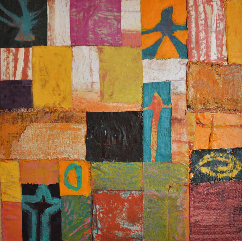 Kesha Bruce, 'This Is How We Fly', 2020, Painting, Mixed media on canvas, Morton Fine Art