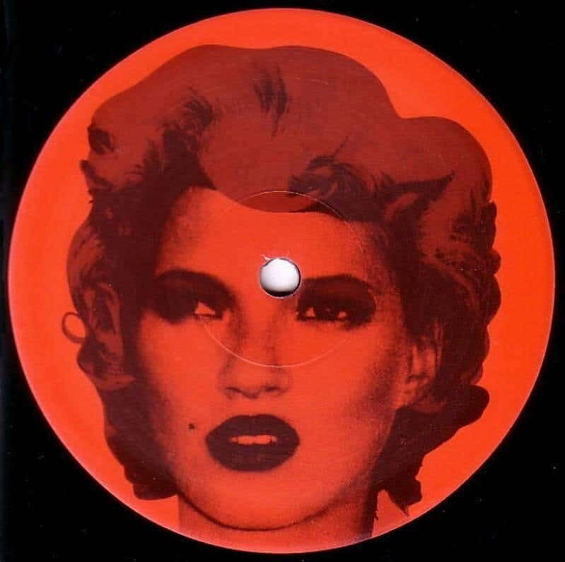 Banksy, 'Banksy Kate Moss record cover art (Kate Moss Banksy)', 2006, Print, Color Silkscreen on Record Sleeve and Vinyl Record label, Lot 180