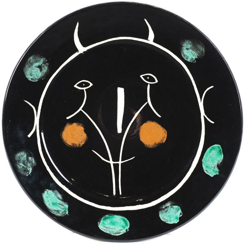 Pablo Picasso, 'Service visage noir', 1948, Design/Decorative Art, Ceramic plate, Martini Studio d'Arte