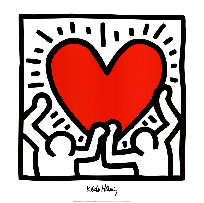 Keith Haring, 'Untitled (1988)', 1995, Reproduction, Offset Lithograph, ArtWise