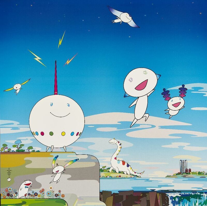 Takashi Murakami, 'Planet 66', 2004, Print, Offset lithograph in colours on wove, Roseberys