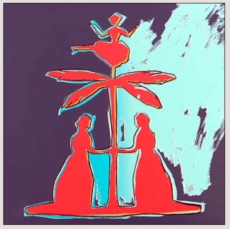Andy Warhol, 'Two Women at a Tree', 1987, Print, Galleri5000