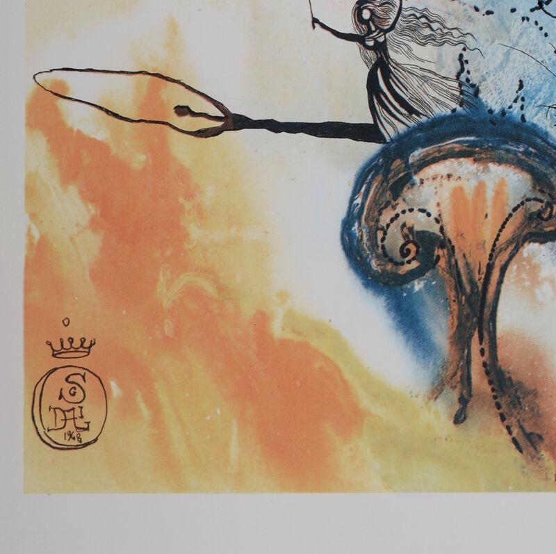 """Salvador Dalí, 'Down the Rabbit Hole', 1969, Print, Woodcut & heliogravure on """"de Mandeure paper"""", NCAG"""