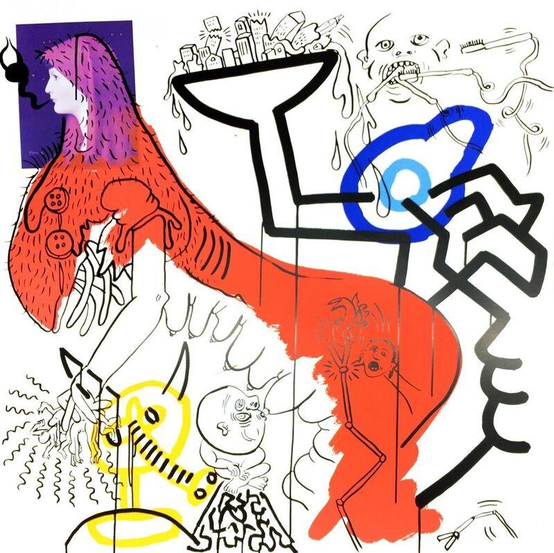 Keith Haring, 'Apocalypse', 1988, Print, Silkscreen on Lenox Museum Board, DANE FINE ART