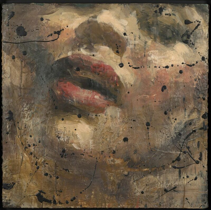 Tony Scherman, 'Study for Banquo's Funeral: Witch #1', 1995, Painting, Oil and encaustic on canvas, Caviar20