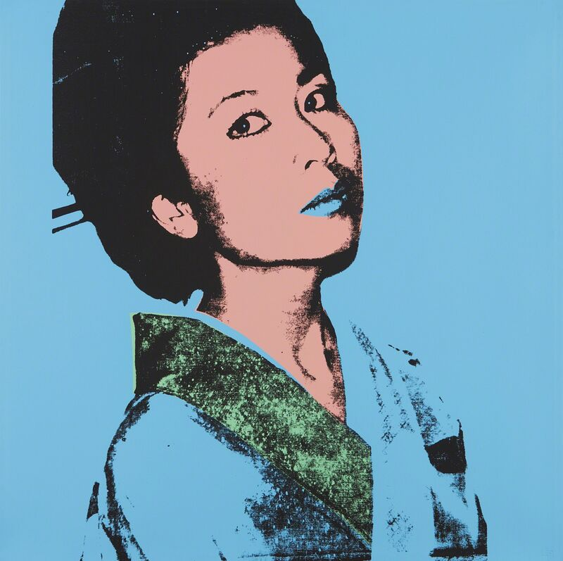 Andy Warhol, 'Kimiko', 1981, Print, Screenprint in colors, on Stonehenge paper, the full sheet, Phillips