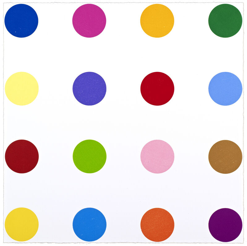 Damien Hirst, 'Nopaline', 2011, Print, Woodcut in colours, on Somerset Textured paper, Gallery Red