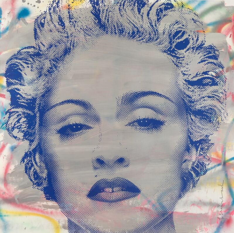Mr. Brainwash, 'Madonna', Silkscreen, acrylic, and spray paint on paper, Heritage Auctions