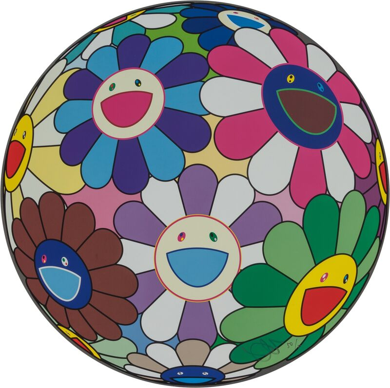 Takashi Murakami, 'Flower Ball (Dumpling)', 2013, Print, Offset lithograph in colors on, Heritage Auctions