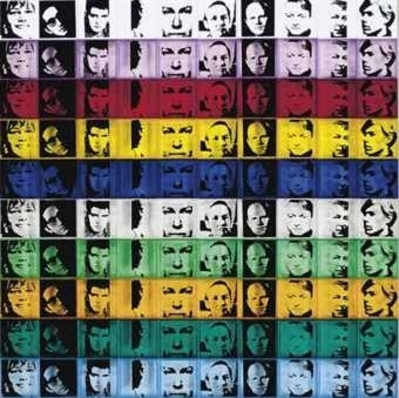 Andy Warhol, 'Portrait of the Artists from Ten from Leo Castelli (F&S 17)', 1967, Sculpture, Screenprint On 100 Polystyrene Boxes In Color, Vertu Fine Art