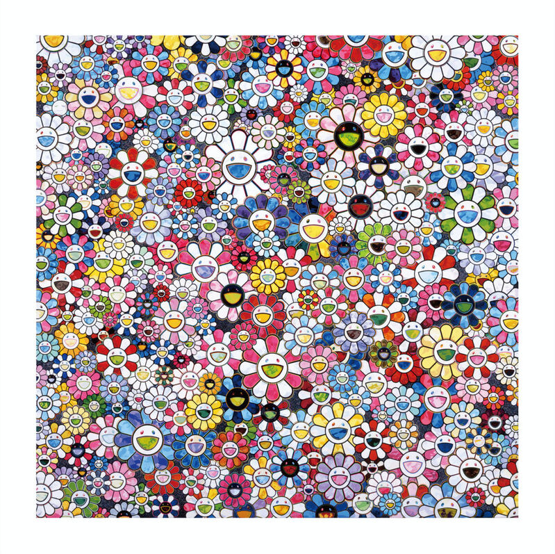 Takashi Murakami, 'The future will definitely smile! surely!', 2020, Print, Archival Pigment Print on Canson Velin, Cotton Rag Paper with deckled edges, Pinto Gallery