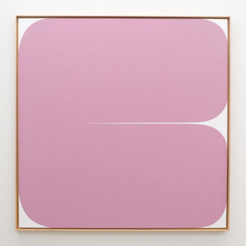 Sara Genn, 'Everything Will Be Okay (Love)', 2020, Painting, Acrylic on canvas in artist frame, Morgan Lehman Gallery