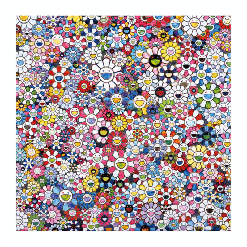 Takashi Murakami, 'The Future will Be Full of Smile! For Sure!', 2020, Print, Archival Pigment Print on Canson Velin, Cotton Rag Paper with deckled edges, Lougher Contemporary