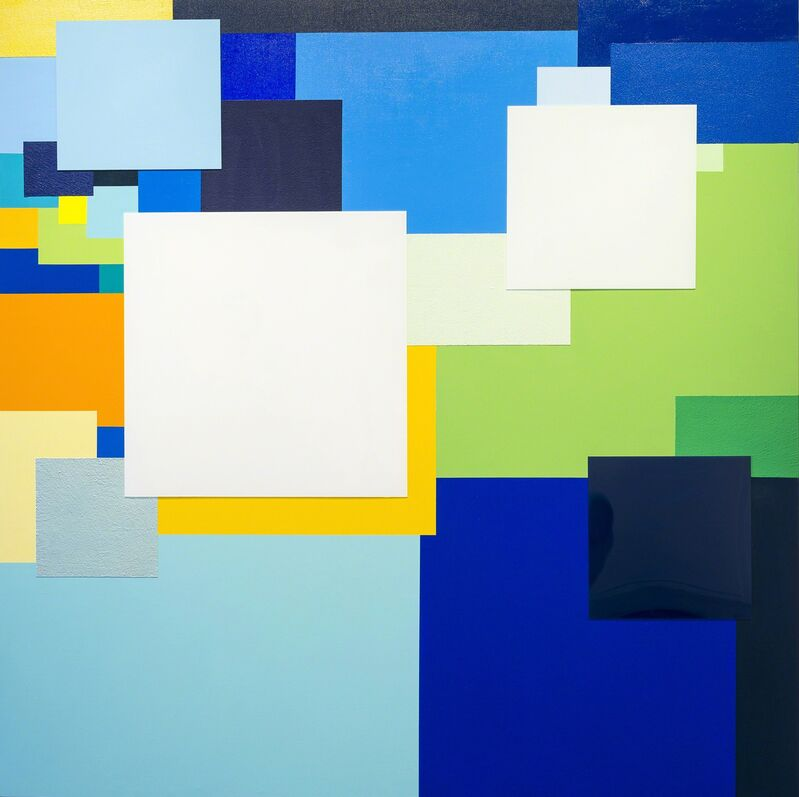Marco Casentini, 'Look Around', 2013, Painting, Acrylic and plexiglas on canvas, Brian Gross Fine Art
