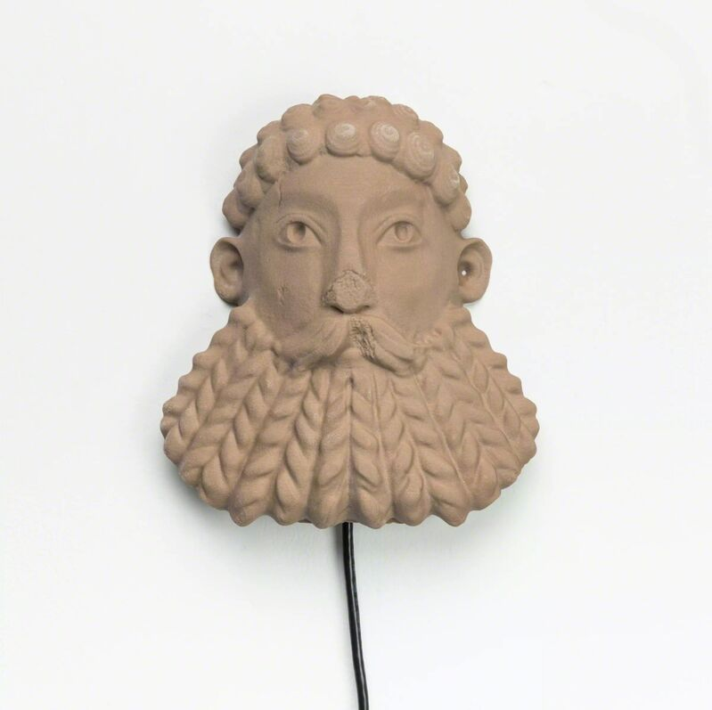 Morehshin Allahyari, 'South Ivan Human Heads: Bearded River God', 2017, The Current Museum