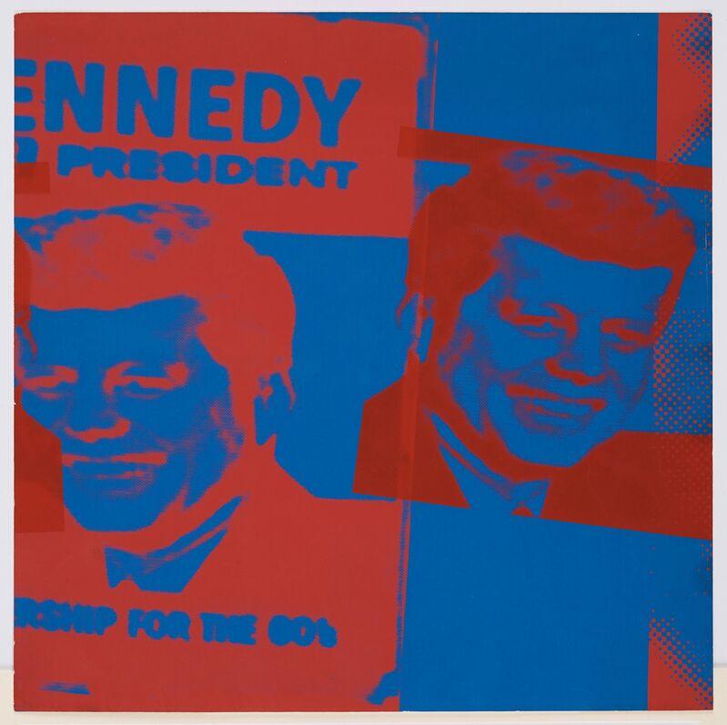Andy Warhol, 'Plate XI, John F. Kennedy from Flash November 22', 1963, Print, Screenprint, DANE FINE ART