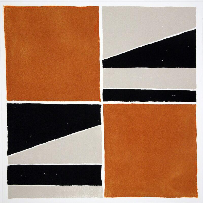 Ronnie Tallon, 'Square 6', 2013, Print, Intaglio, Stoney Road Press