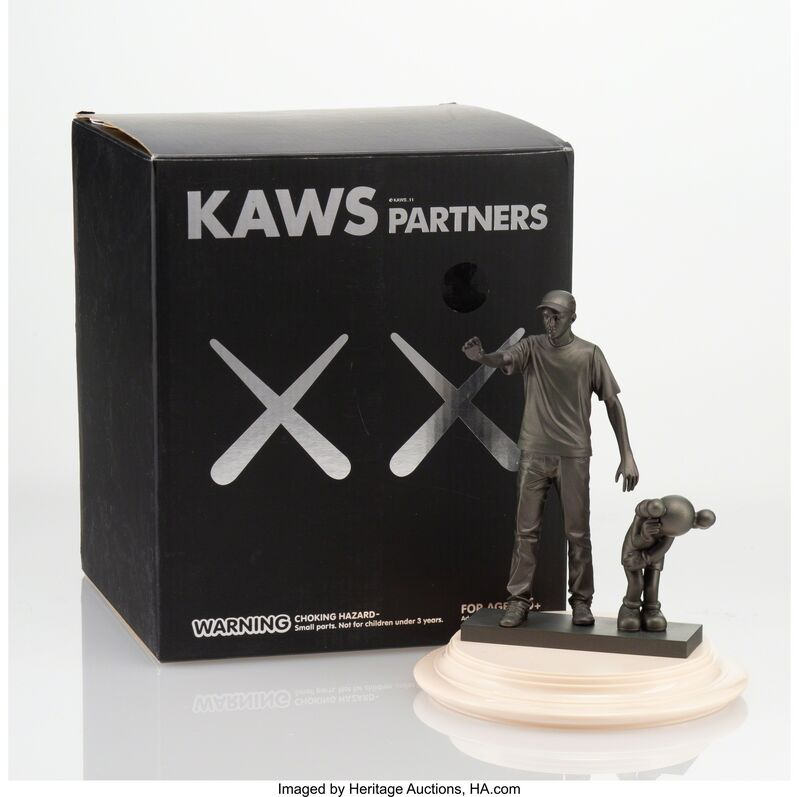 KAWS, 'Companion (Partners)', 2011, Other, Vinyl with plaztic base, Heritage Auctions