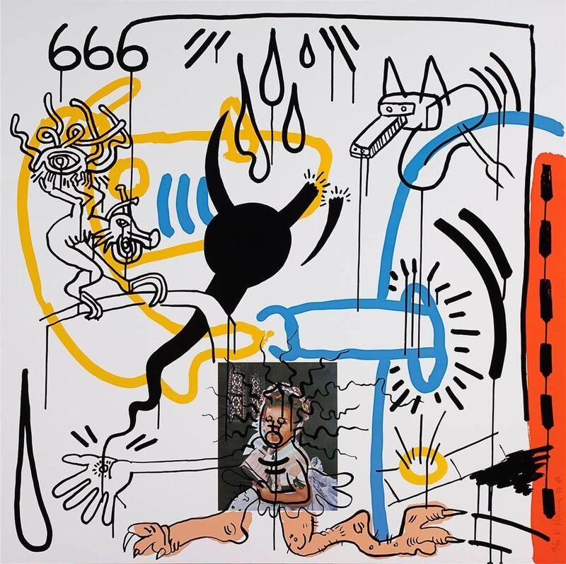 Keith Haring, 'Apocalypse 8', 1988, Print, Silkscreen, ArtLife Gallery