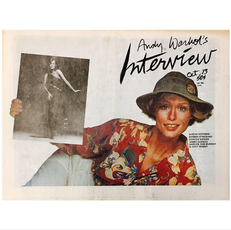 Andy Warhol, 'Warhol's Interview Magazine, Lauren Hutton', 1973, Ephemera or Merchandise, Paper, Lot 180