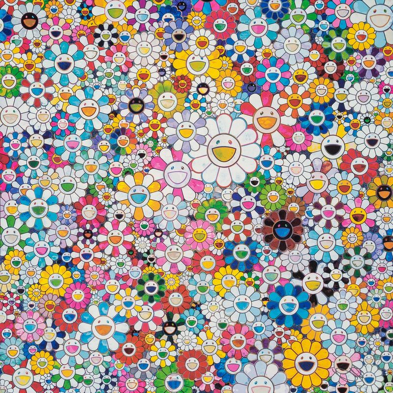 Takashi Murakami, 'When I Close My Eyes, I See Shangri-La', 2012, Print, Offset lithograph in colors on wove paper, Heritage Auctions