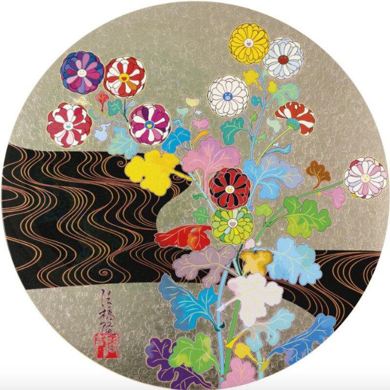 Takashi Murakami, 'Hokkyo Takashi - Kansei', 2016, Print, Offset lithograph in colors, foil and thick fill varnish, Upsilon Gallery