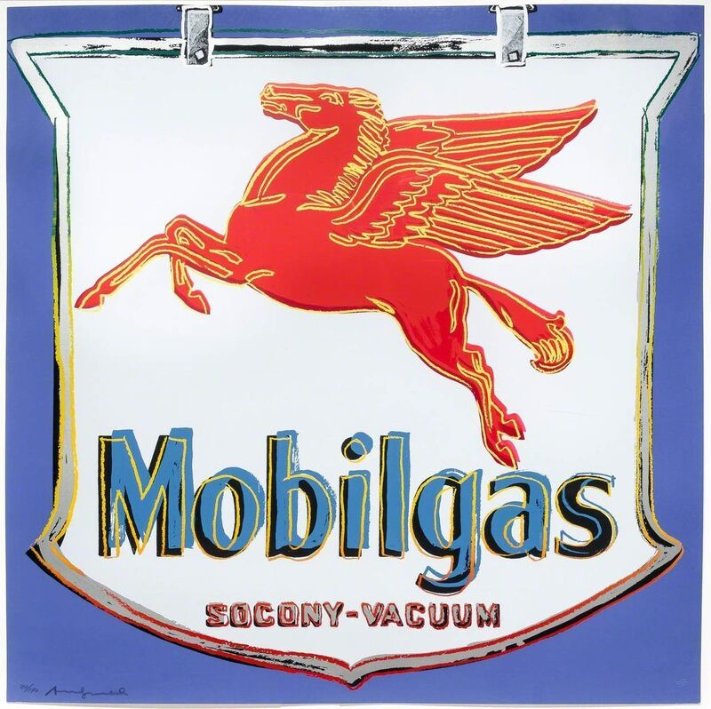 Andy Warhol, 'Mobilgas', 1985, Print, Dorian Grey Projects