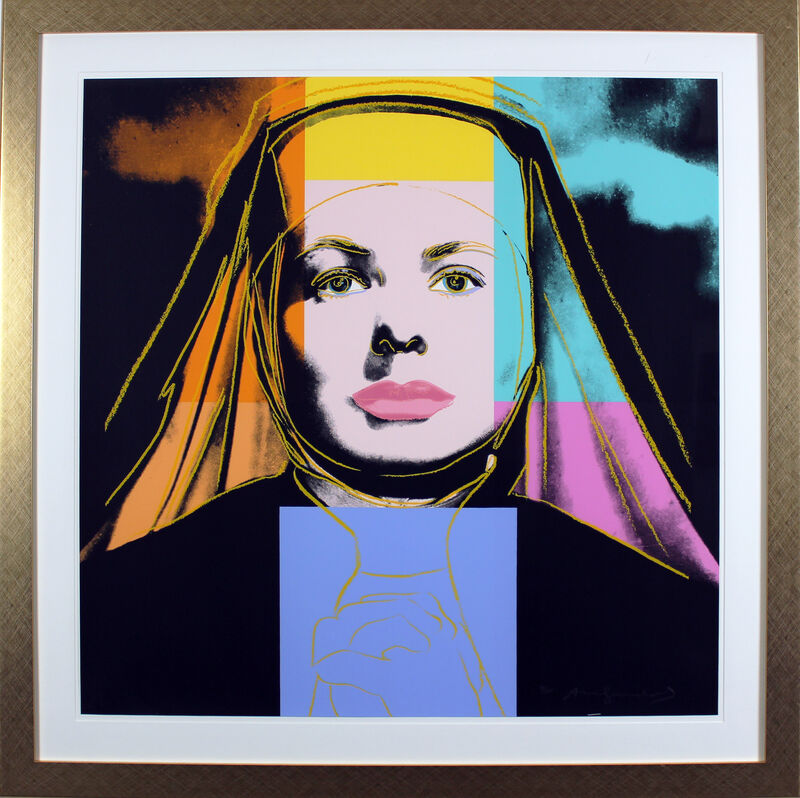 Andy Warhol, 'Ingrid Bergman, The Nun (FS II.314)', 1983, Print, Screenprint on Lenox Museum Board, Gormleys Fine Art