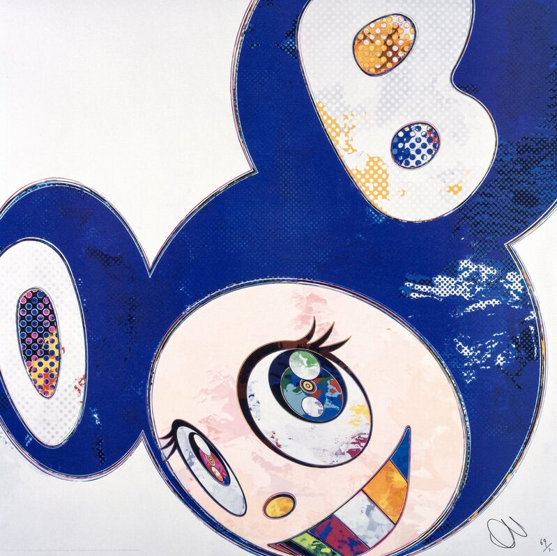 Takashi Murakami, 'And Then... All Things Good and Bad, All Days Fine and Rough', 2014, Print, Offset lithograph in colors on satin wove paper, Heritage Auctions