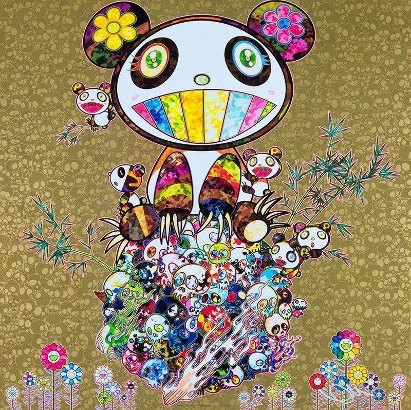 Takashi Murakami, 'Panda Family Gold', 2016, Dope! Gallery