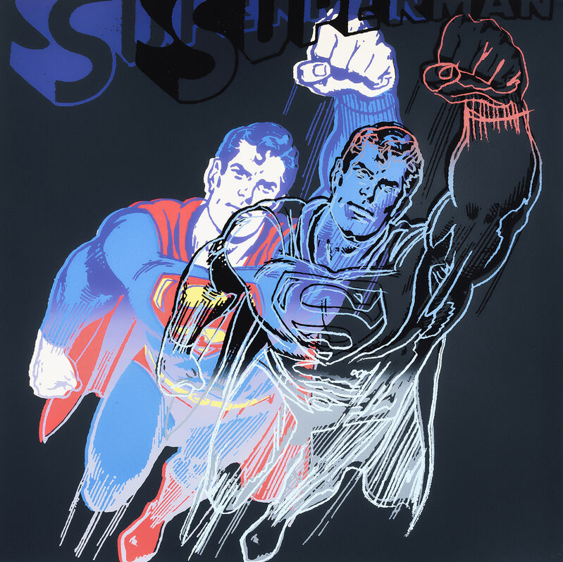 Andy Warhol, 'Superman, from Myths', 1981, Print, Screenprint in colours on Lenox Museum Board, Tate Ward Auctions