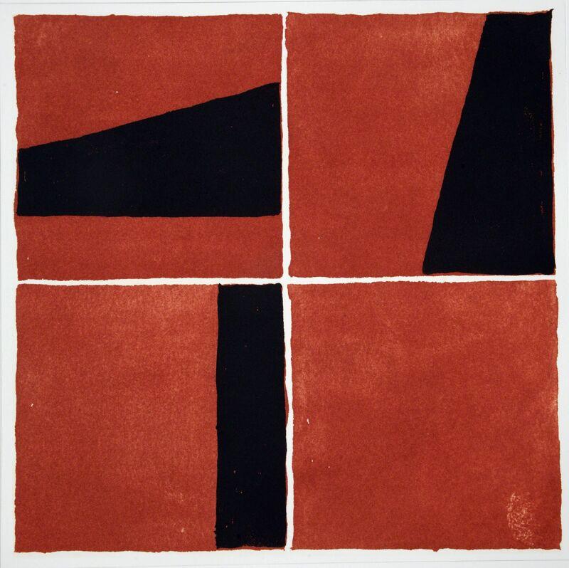Ronnie Tallon, 'Square 3', 2013, Print, Intaglio, Stoney Road Press