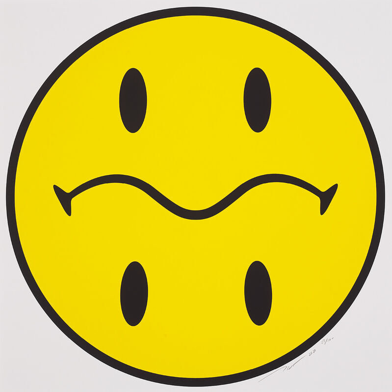Takashi Murakami, 'My Next Smiley', 2020, Print, Screenprint in colours, on smooth wove paper, with full margins., Phillips