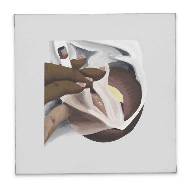 Tom Wesselmann, 'Smoker Study / for Smoker #24', 1976, Painting, Oil on canvas, Repetto Gallery