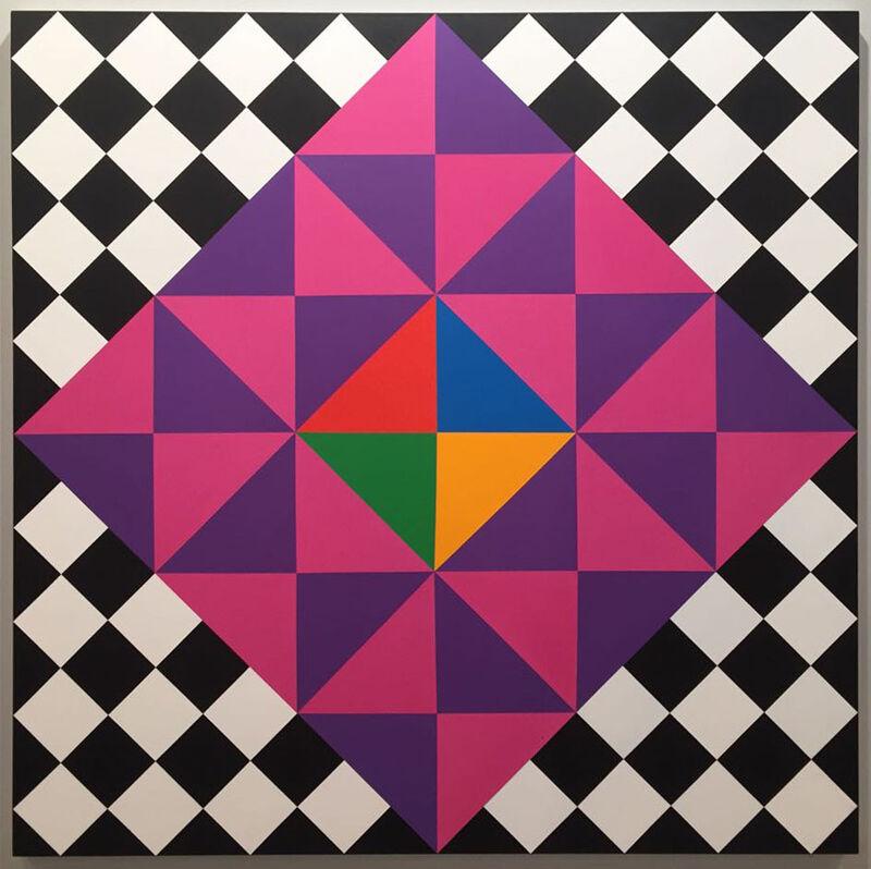 Rasheed Araeen, 'Opus T1', 2016, Painting, Acrylic on canvas, Baró Galeria