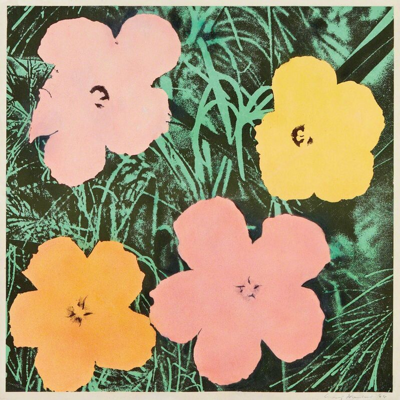 Andy Warhol, 'Flowers', 1964, Print, Offset lithograph in colors, on wove paper, with full margins, Phillips