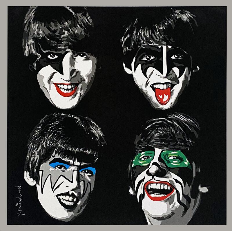 Mr. Brainwash, ''The Beatles as KISS'', 2010, Ephemera or Merchandise, Offset lithograph on satin poster paper., Signari Gallery