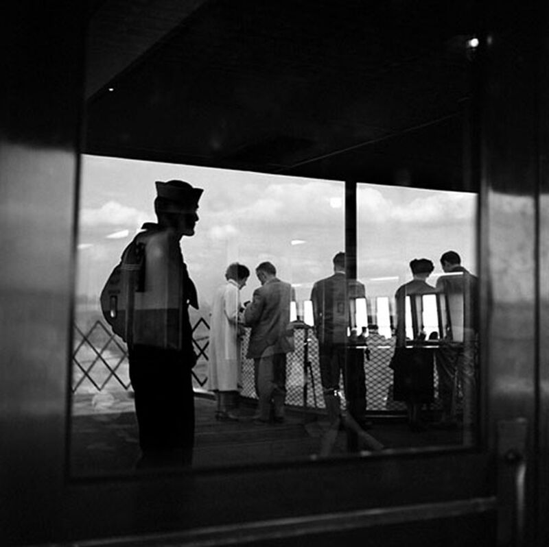 Vivian Maier, 'VM19XX04202-03-Untitled, New York, NY, n.d Sailor ', 2012, Photography, Modern gelatin silver print, KP Projects