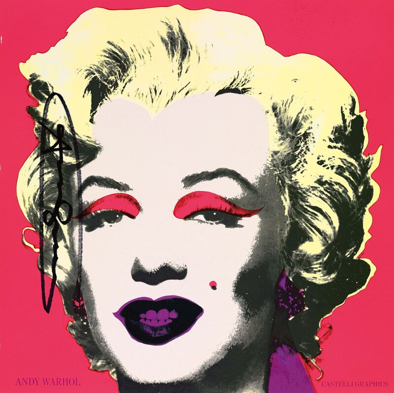 Andy Warhol, 'Marilyn (Castelli Mailer)', 1981, Print, Offset lithograph on thin card, Van Ham