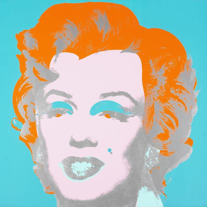 Andy Warhol, 'Marilyn', 1967, Print, Screenprint on paper, Seattle Art Museum