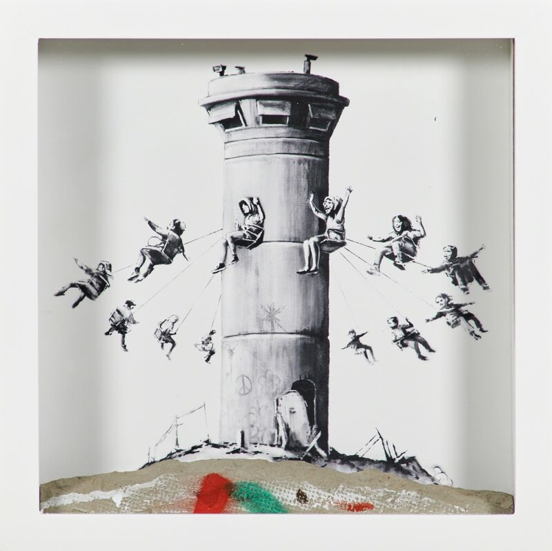 Banksy, 'Walled Off Box Set', 2017, Mixed Media, Giclee print with concrete piece of wall in the artist's designated Ikea frame, Rago/Wright/LAMA