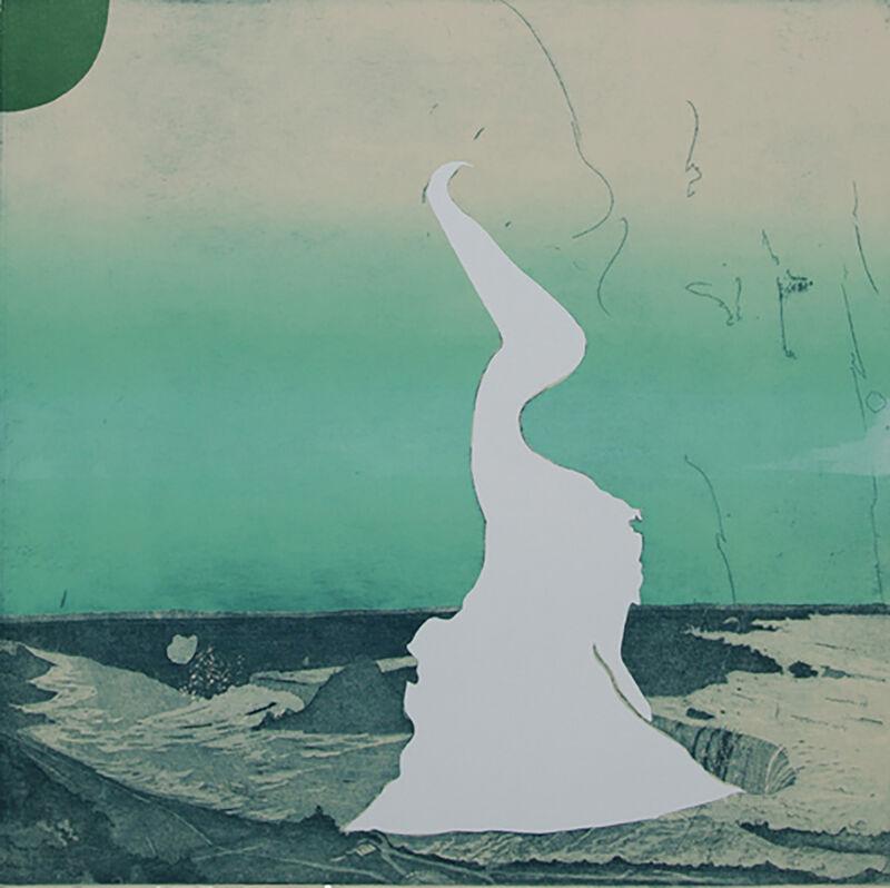 Allison Bianco, 'Not Too Far North', 2019, Print, Intaglio, screen print, Cade Tompkins Projects