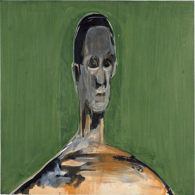 Noah Davis, 'Bust 3', 2010, Painting, Oil on canvas, Phillips