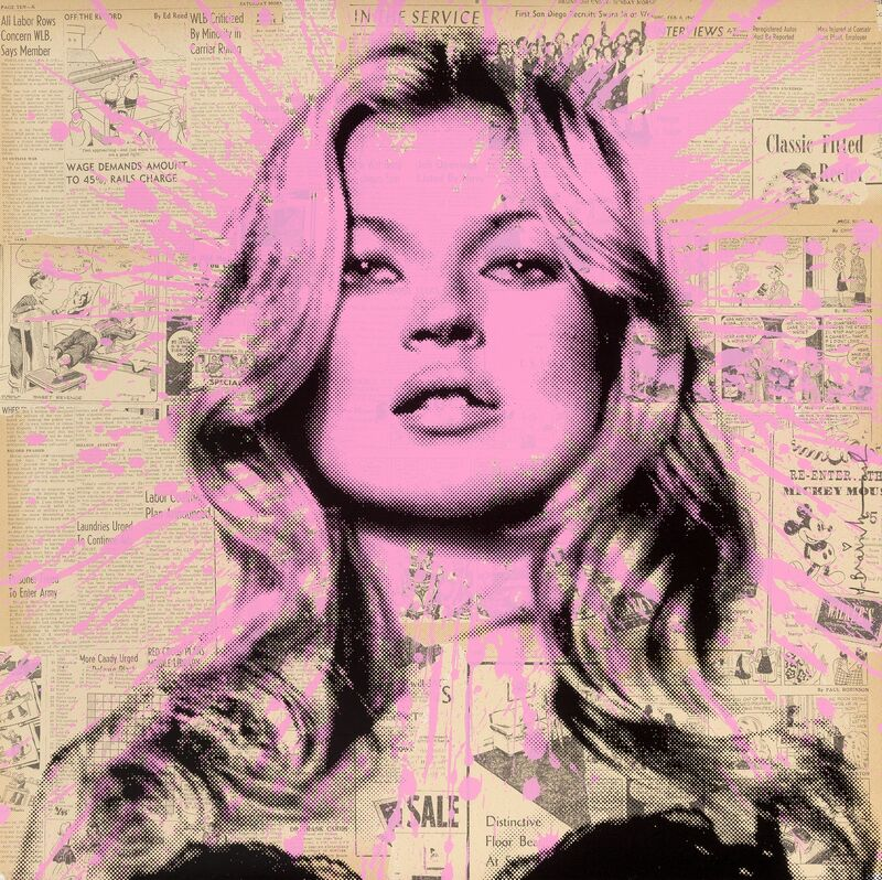 Mr. Brainwash, 'Cover Girl', 2012, Print, Screenprint in colors on Archival Art paper, Heritage Auctions
