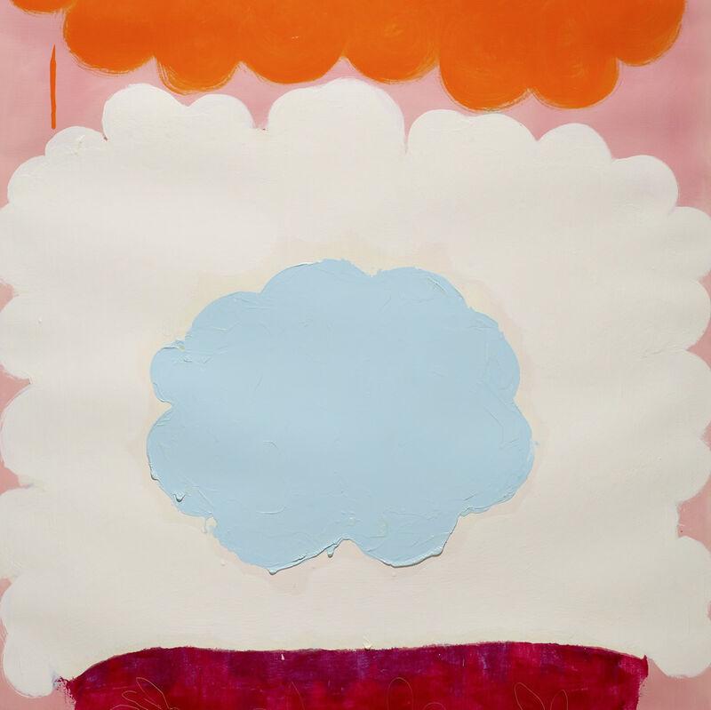 Anya Spielman, 'Lapin (Abstract painting)', 2009, Painting, Oil on paper, IdeelArt