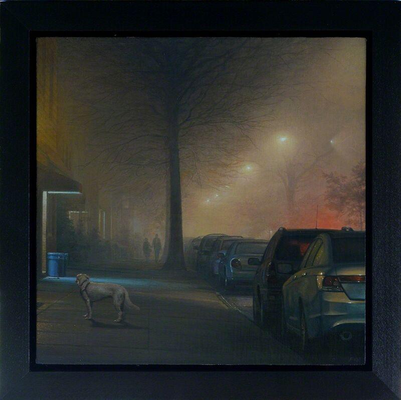 Stephen Fox, 'Midnight Walk', Painting, Oil On Linen, ARCADIA CONTEMPORARY