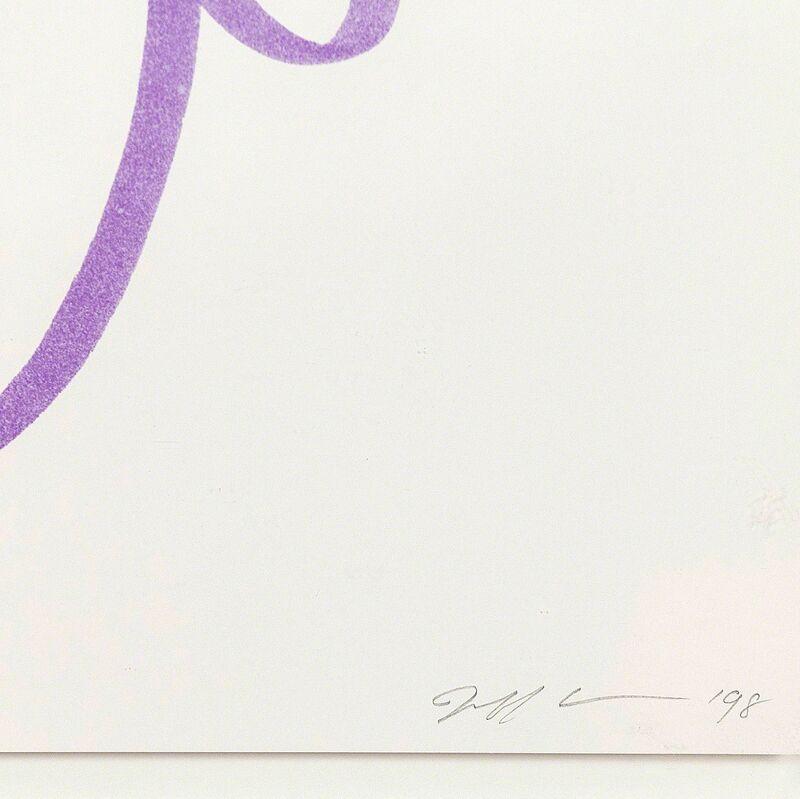 Jeff Koons, 'Fun Purple', 1998, Print, Grano-lithograph on wove paper, Caviar20