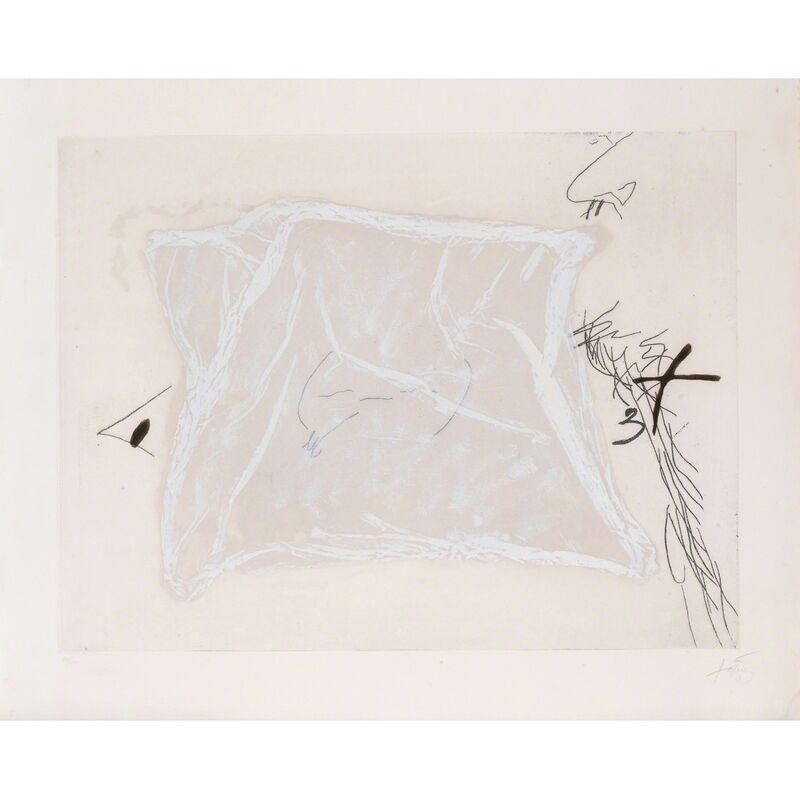 Antoni Tàpies, 'Mouchoir', 1971, Print, Etching, soft varnish and engraving with carborundum hand enhanced, PIASA