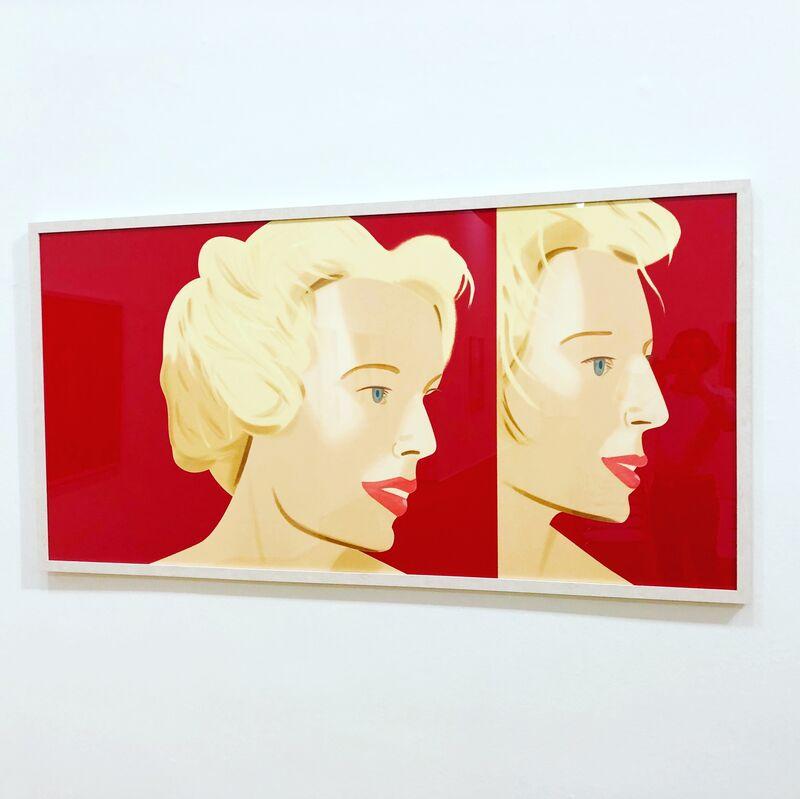Alex Katz, 'Coca Cola Girl 6', 2019, Print, Screenprint on paper., Frank Fluegel Gallery