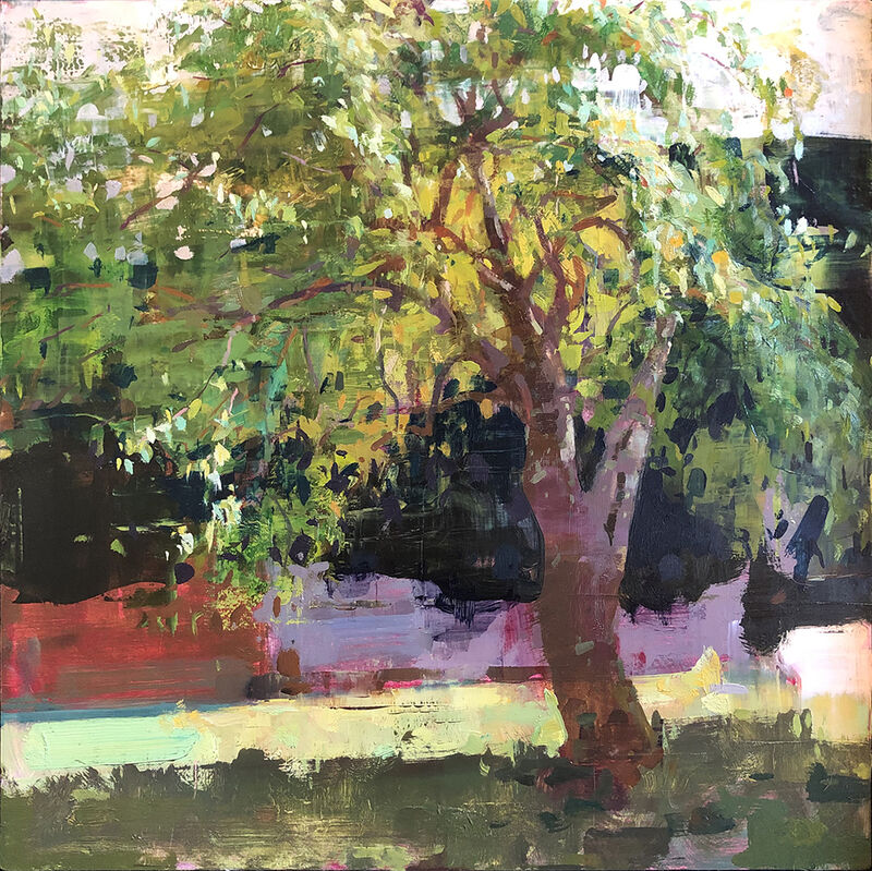 Jon Redmond, 'Tom's Pear Tree', 2019, Painting, Oil on board, Somerville Manning Gallery